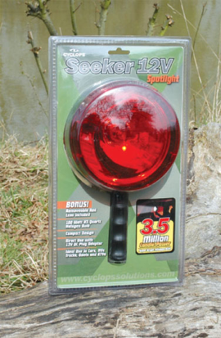 CYCLOPS 12 VOLT 3.5 M.C.P. LIGHT