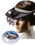 HEAD LIGHT MAGNIFYING GLASSES