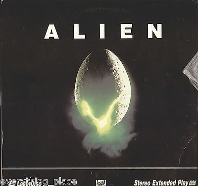 Alien Laserdisc Movie -- Tom Skerritt, Sigourney Weaver, John Hurt
