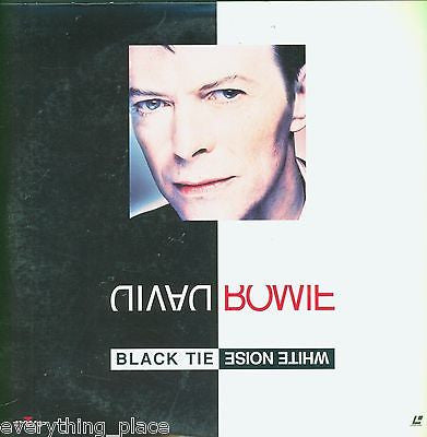 David Bowie Black Tie White Noise Laserdisc Music Front