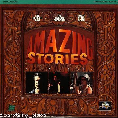 Amazing Stories Book Three Steven Speilberg Laser Disc SEALED!!