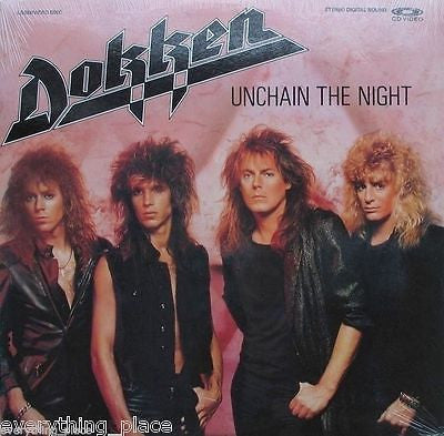 Dokken Unchain The Night Music  Laserdisc