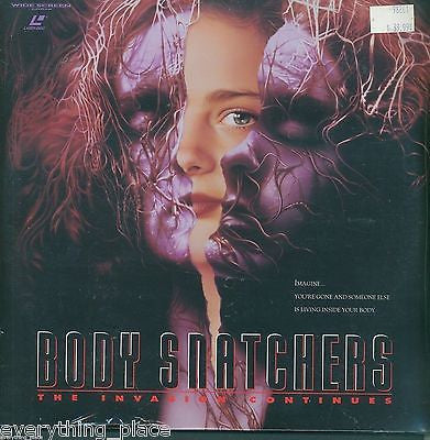 Body Snatchers The Invasion Continues Laserdisc Movie SEALED!!