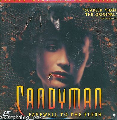 Candyman Farewell To The Flesh Laserdisc Movie SEALED!!