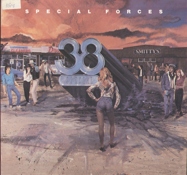 .38 Special Special Forces Vinyl Record Album Front Cover