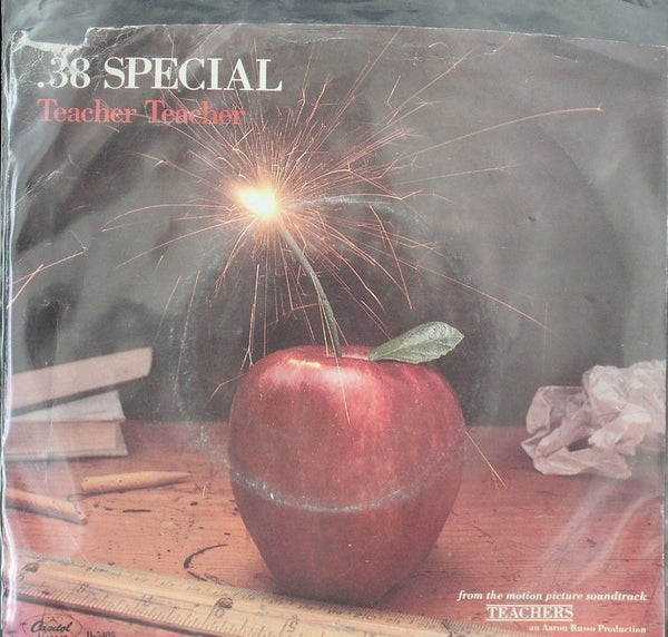 .38 Special Teacher, Teacher Picture Sleeve 45-rpm Record