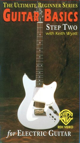 Guitar Basics, Step Two for Electric Guitar [VHS]