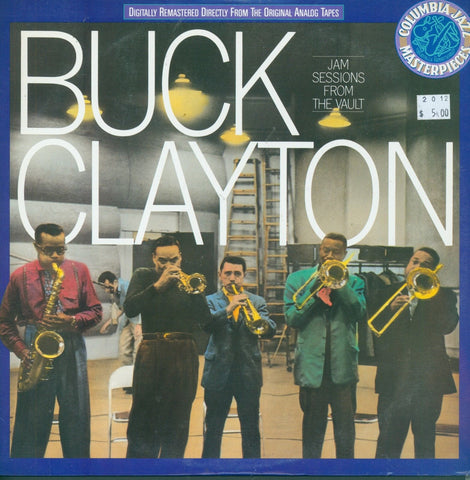 Buck Clayton Jam Sessions From The Vault Vinyl LP Record Album
