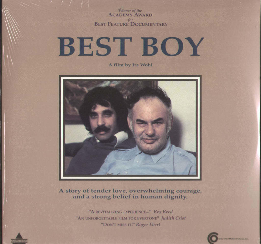 Best Boy Laserdisc Movie Front