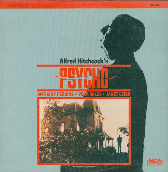Alfred Hitchcock's Psycho Original 1960 Movie Laser Disc