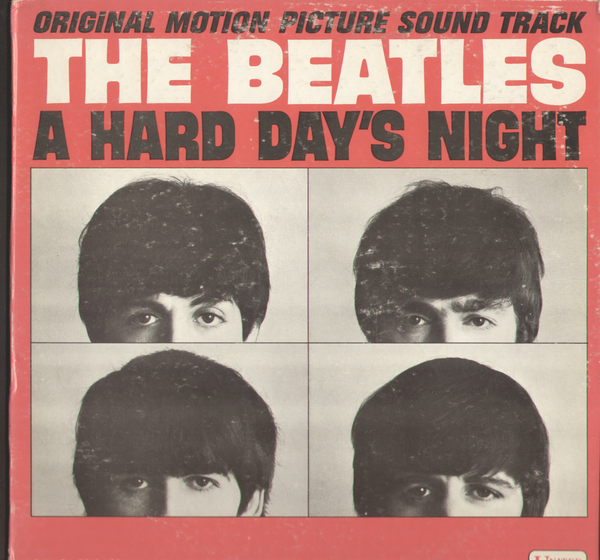 The Beatles A Hard Day's Night Original Soundtrack Vinyl LP Record Album Mono