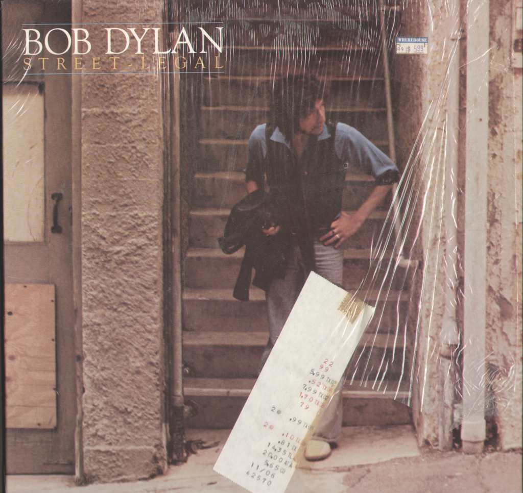 Bob Dylan Street Legal Vinyl LP Record Album – Everything Place