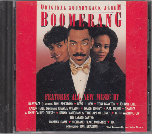 Boomerang Original Motion Picture Soundtrack CD