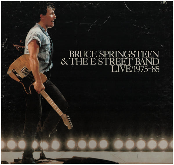 Bruce Springsteen & The E Street Band Live/1975-85 Boxed Set Front
