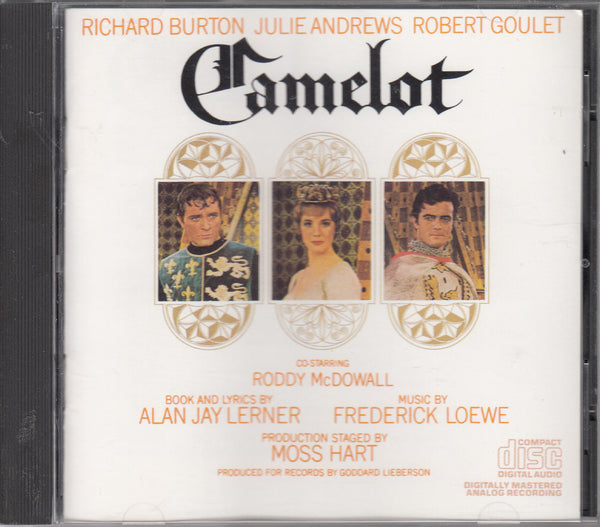 Camelot Original Broadway Cast CD