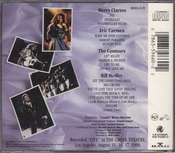 Dirty Dancing Live In Concert CD
