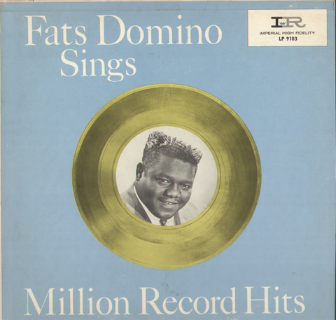 Fats Domino Sings Million Record Hits Vinyl Record Album