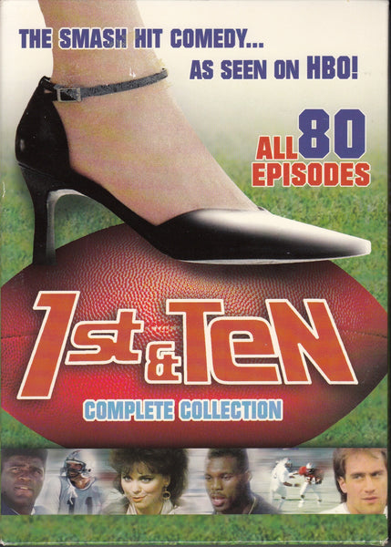 1st & Ten Complete Collection DVD Boxed Set Front Cover