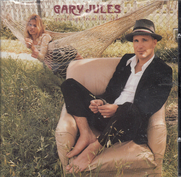 Gary Jules Greetings From The Side Audio CD Front