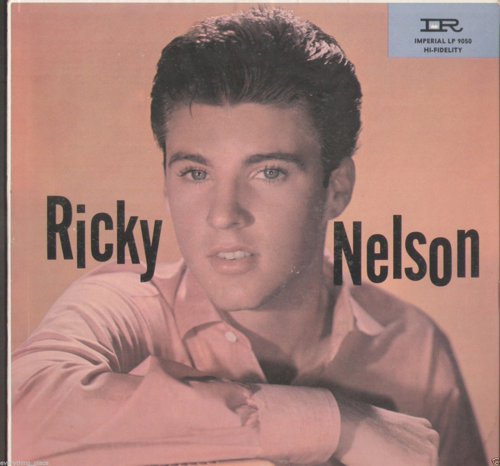 Ricky Nelson Original Imperial Label Vinyl Record Album Front
