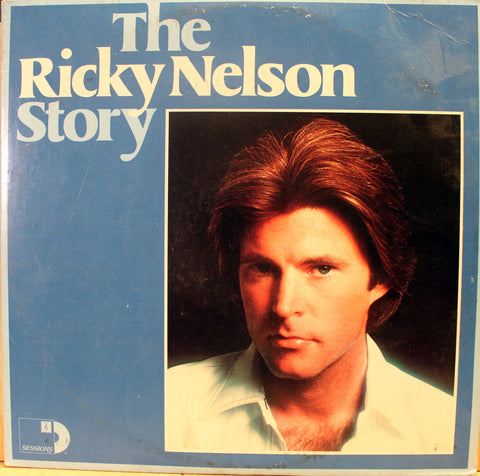 The Ricky Nelson Story Vinyl Record Album Set Front