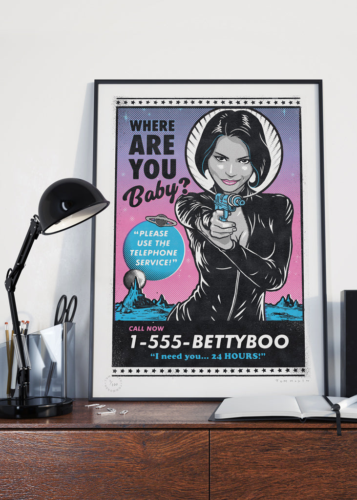 Betty Boo 'Pop-Tartz' Print