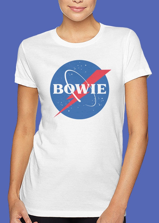 Bowie 'NASA' Tshirt Woman