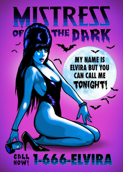 Elvira 'Pop-Tartz' Print