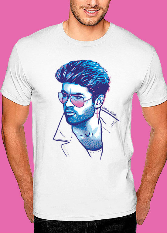 George Michael 'Faith' T-shirt Man