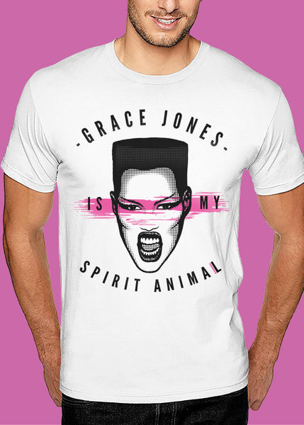 Gracie 'Spirit Animal' Tshirt Man