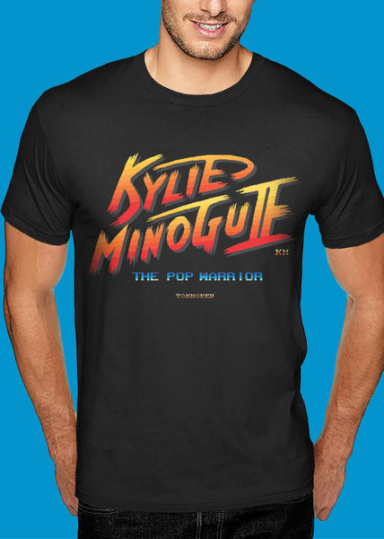 Kylie 'Street-Fighter' Tshirt Man
