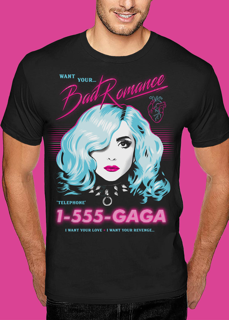 Lady Gaga 'PopTartz' T-shirt Man