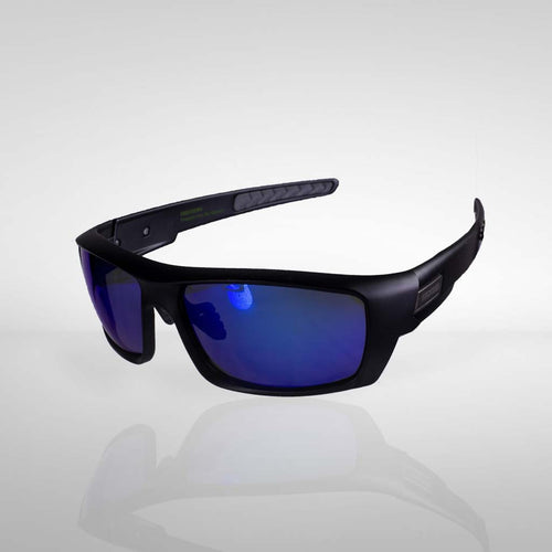 Knockdown 'Struttin' Sunglasses -  Black/Blue