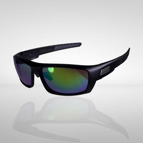 Knockdown 'Struttin' Sunglasses - Black/Green