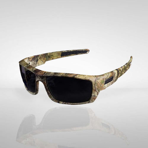 Knockdown 'Trigger Finger' Sunglasses - Camo/Smoke