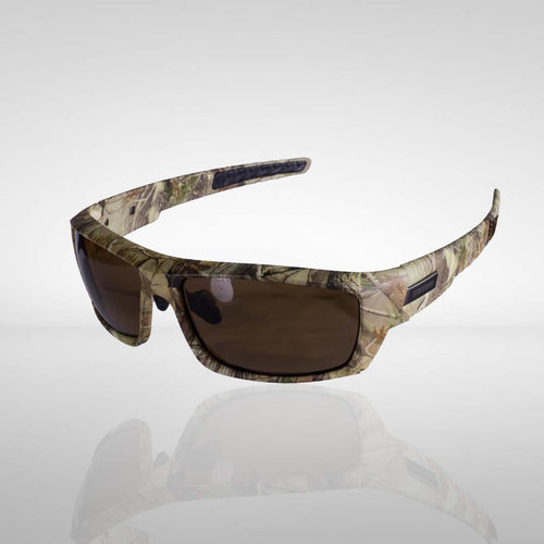 Knockdown 'Trigger Finger' Sunglasses - Camo/Amber