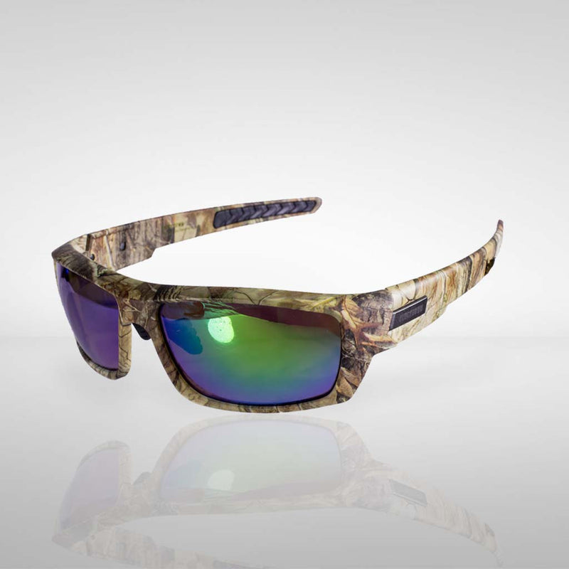 Knockdown 'Trigger Finger' Sunglasses - Camo/Green