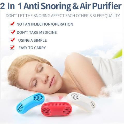 Anti Snoring & Air Purifier