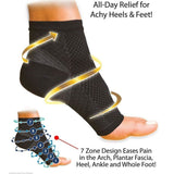 Compression Foot Sleeve (1Pair)