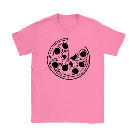 Womens T-Shirt - Pizza
