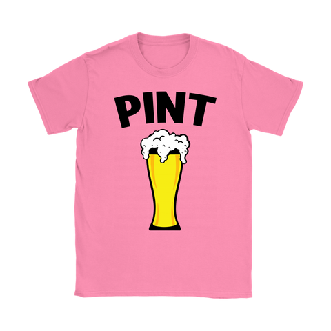 Womens T-Shirt - Pint/Half Pint