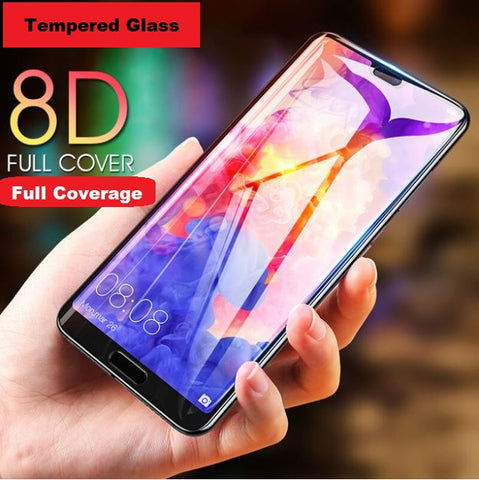 8D Full Cover Tempered Glass for Huawei Phones