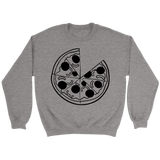 Crewneck Unisex Sweatshirt - Pizza
