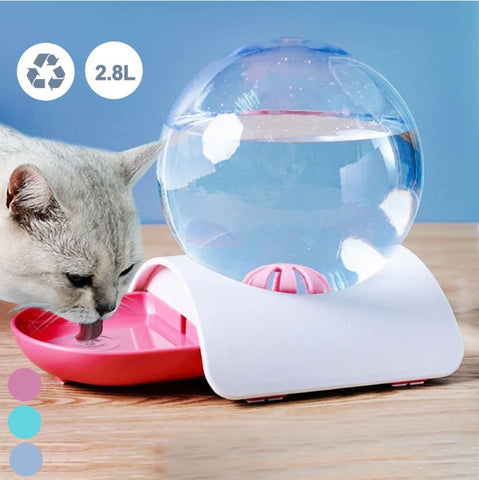 BubbleFun™ Automatic Pet Water Fountain