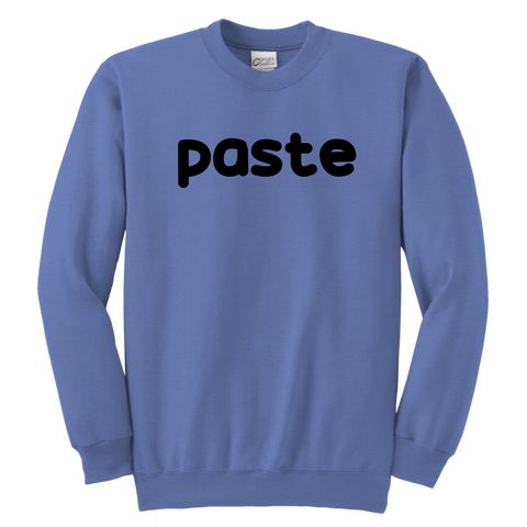 Youth Crewneck Sweatshirt - Copy Paste