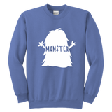 Youth Crewneck Sweatshirt - I Created a Monster