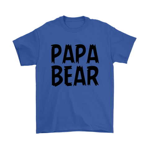 Mens T-Shirt - Papa/Mama Bear
