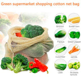 EcoBag™ Reusable Vegetable/Fruit Storage Bags (9Pc/Set)