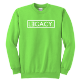 Youth Crewneck Sweatshirt - Legend/Legacy