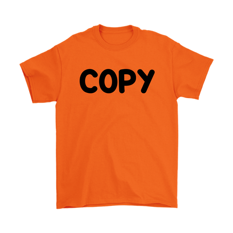Mens T-Shirt  - Copy Paste